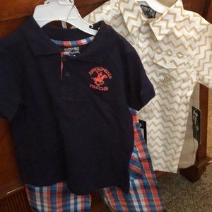 Toddler boys new outfits